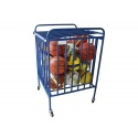 Carts and ball stands